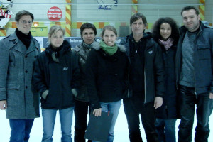 'Christmas party on ice' December 2009